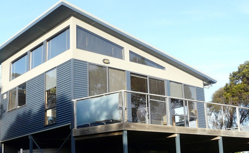 Beachcomber house design house design for Beach house designs tasmania